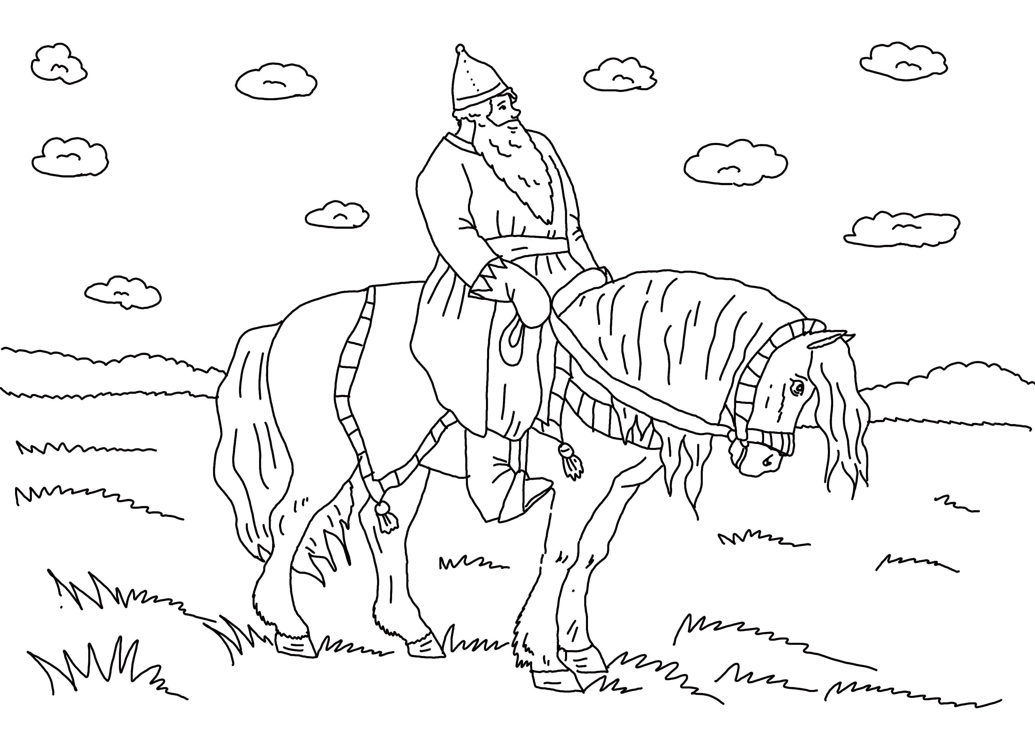 иллюстрации к былине ильины три поездочки могут поражать