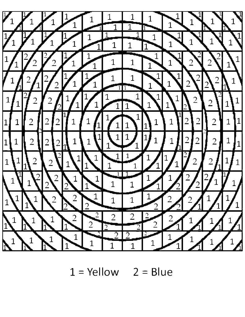 Coloring pages a mathematical coloring book Скачать .  Распечатать