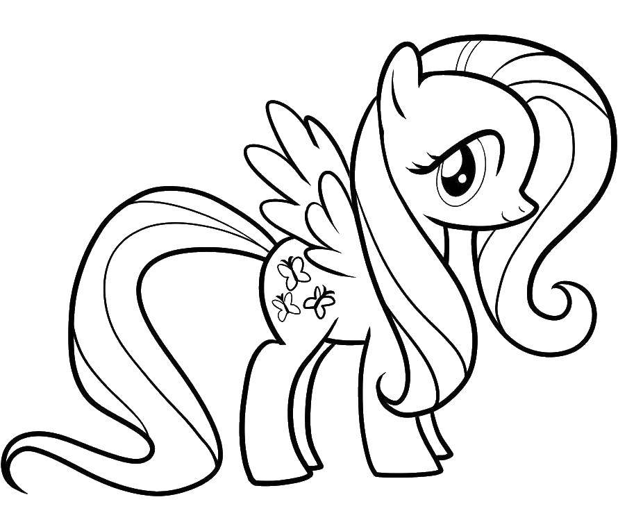 Coloring sheet my little pony Download .  Print