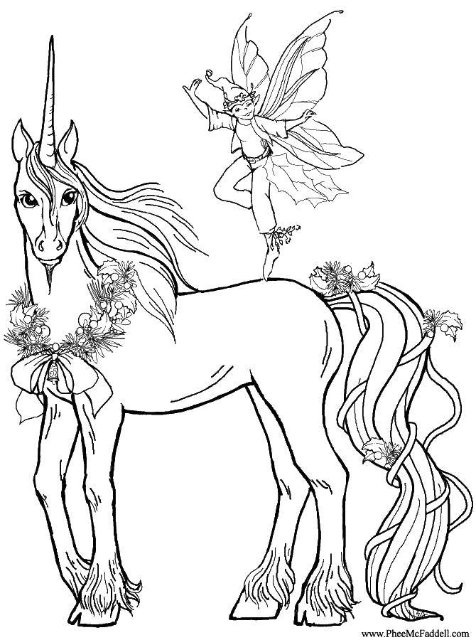 Coloring sheet horse Download Nature, forest, mountains, country.  Print ,Nature,