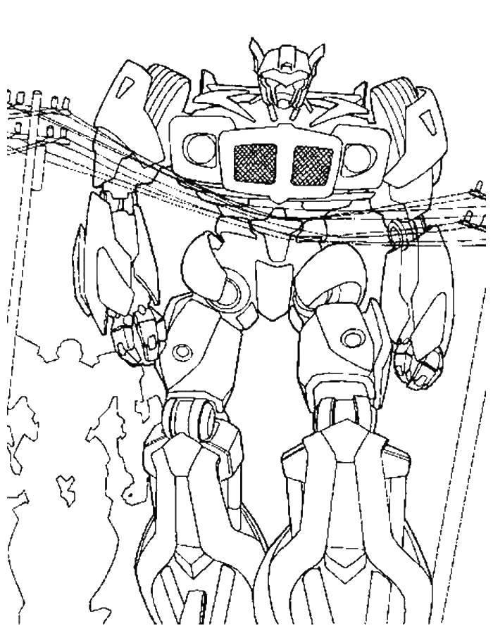 Coloring sheet transformers Download Togruta, star wars.  Print ,cartoons,