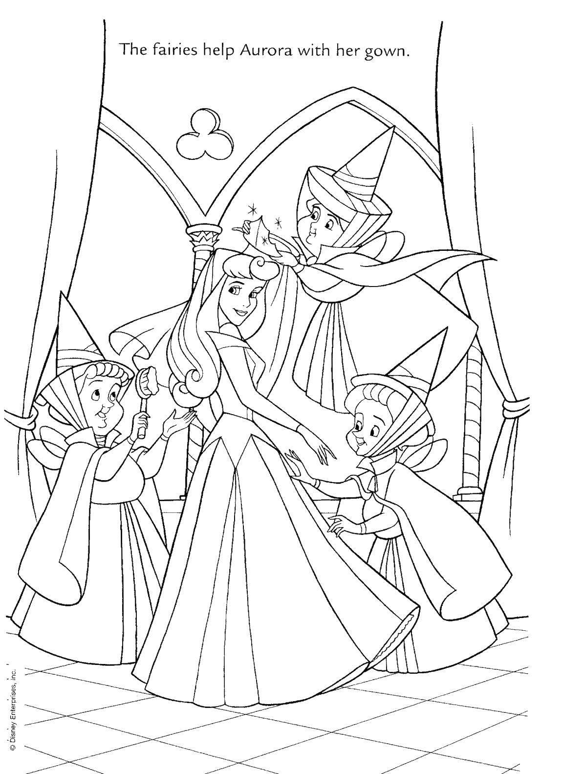 Раскраски Принцессы, Сайт раскрасок.