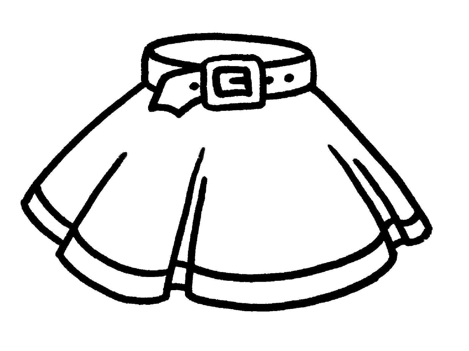 Coloring sheet Clothing Download .  Print