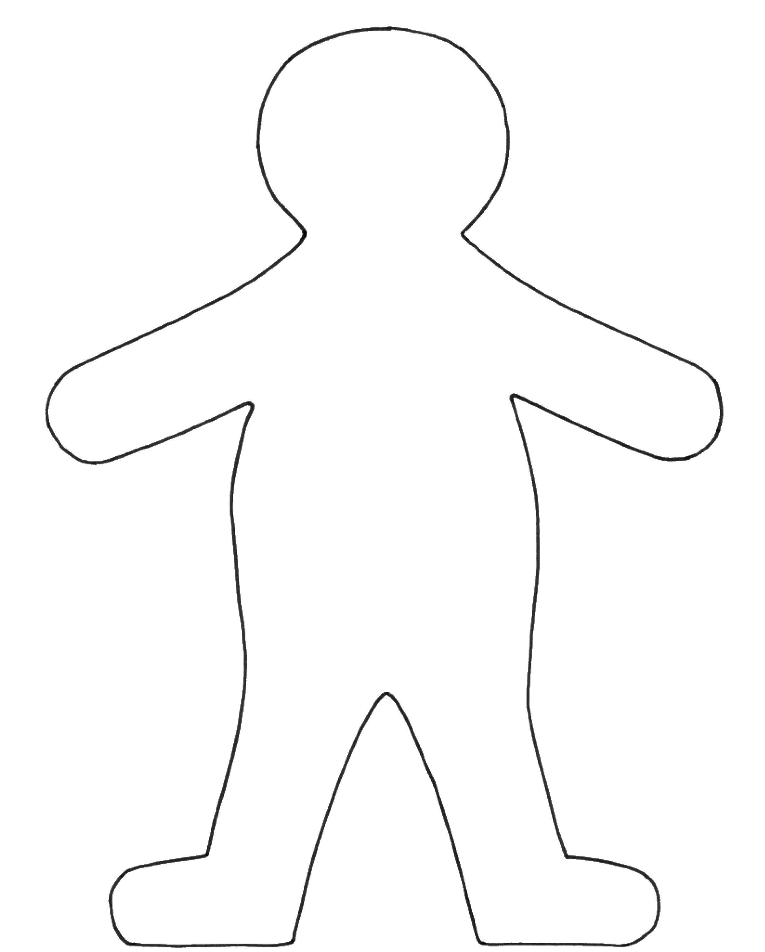 Шаблоны человечек картинки