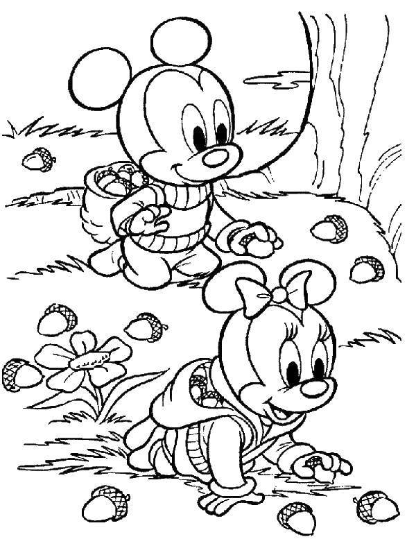 Coloring sheet Mickey mouse Download .  Print