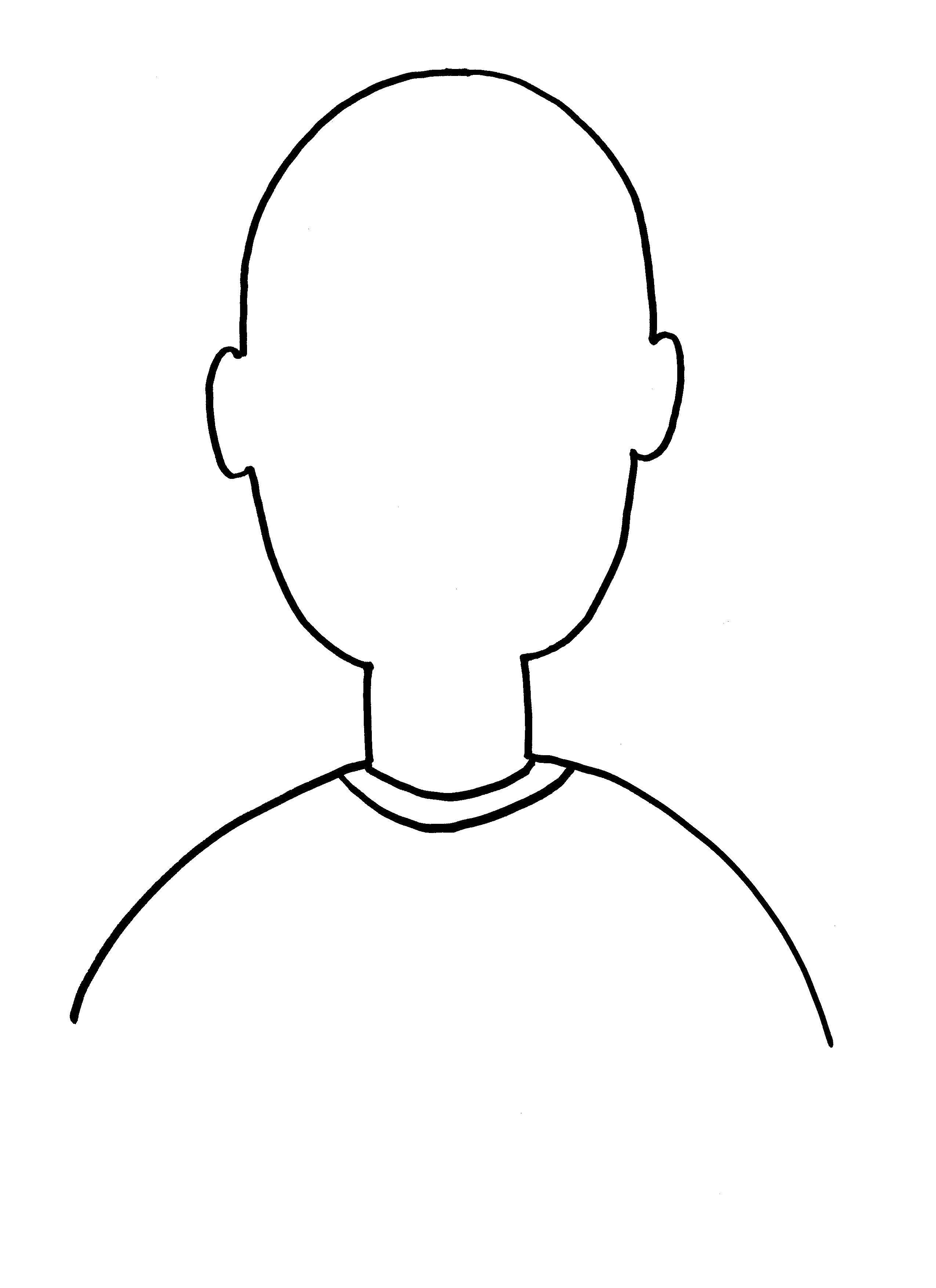 Картинка лицо пустое